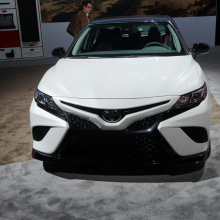 Toyota Camry и Avalon TRD показали в Лос-Анджелесе новый спортивный стиль