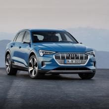 Audi представляет новую электро-модель e-tron Launch Edition
