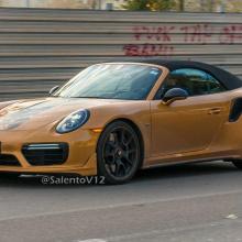 Porsche 911 Turbo S Exclusive Series без жесткого верха