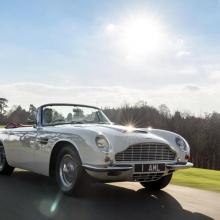 Aston Martin создает электронную трансмиссию для классических моделей