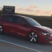 Это первые кадры Volkswagen Golf следующего поколения?