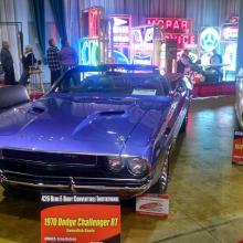 1 из 5 кабриолетов 1970 Dodge Challenger R/T продается за 1,8 млн долларов