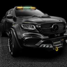 Carlex Design представил 6-колесный карбоновый Mercedes-Benz X-Class
