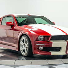Mustang с двигателем и салоном Lamborghini V10 будет выставлен на аукцион