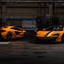 MSO представляет 6 McLaren 570S в теме «Гонки сквозь века»