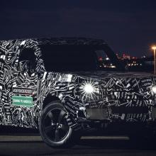 Команда Land Rover объявляет подробности о Defender 2020 года