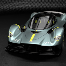 ''Q by Aston Martin'' представляет множество пакетов обновлений для гиперкара Valkyrie