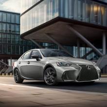 Команда Lexus раскрывает подробности о новом пакете обновлений Black Line
