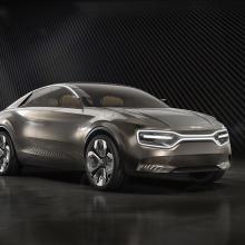 Kia представляет новый концептуальный автомобиль на автосалоне в Женеве