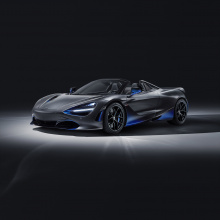 McLaren представляет новый Spider 720S на Женевском автосалоне