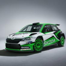 SKODA анонсировала новую Fabia R5 для предстоящих соревнований по ралли