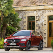 Mercedes демонстрирует новый GLC Coupe