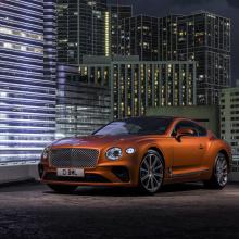 Представлены модели Bentley Continental GT и GTC V8