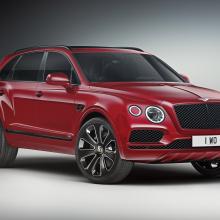 Команда Bentley представляет новые машины серии Bentayga Design