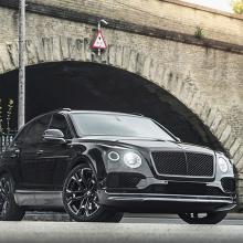 Команда Kahn Design показывает фотографии своего нового Bentley