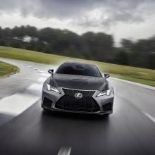 Команда Lexus представляет новый RC F Coupe!