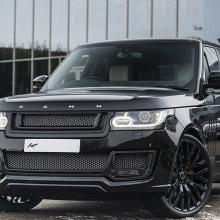 Kahn Design с гордостью представляет новый Range Rover Santorini Black Edition!