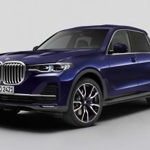 BMW представил единственный в мире X7 пикап!