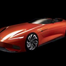 Команда Karma Automotive представит концепцию SC1 Vision в этом году на Concours d'Elegance