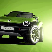 VW покажет концепт I.D. BUGGY на Concours d'Elegance