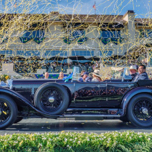 8-литровый 1931 Bentley Gurney Nutting Sports Tourer победил на Pebble Beach