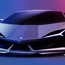 Концепт дизайна будущего Lambo Aventador