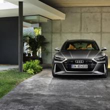 Audi раскрывает подробности новой модели RS6 Avant