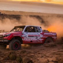 Honda Baja Ridgeline финиширует вторым в Вегасе