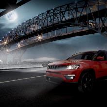 Jeep анонсирует новые пакеты Night Eagle для Compass и Rengade!