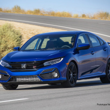 Honda представляет новые модели Civic Si Sedan и Coupe