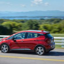 Chevrolet раскрыл подробности о предстоящем электромобиле Bolt