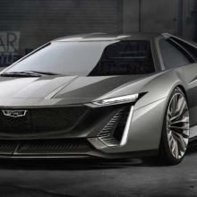 Концепт суперкара Cadillac со средним расположением двигателя