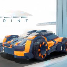 Лего-концепт суперкар Colide Sprint нуждается в вашей поддержке