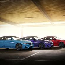 BMW демонстрирует ограниченную серию машин M4