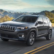 2019 Jeep Cherokee получает награду TOP SAFETY PICK от IIHS