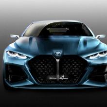 Новая решетка для BMW Concept 4 от фаната бренда