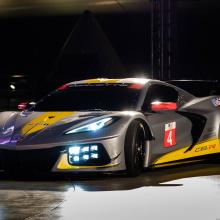 Chevrolet неожиданно демонстрирует новый Corvette Racing C8.R
