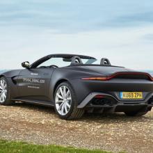 Aston Martin V8 Vantage Roadster - официальные фотографии