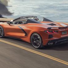 Кабриолет 2020 Chevrolet Corvette - впервые в истории с жестким верхом