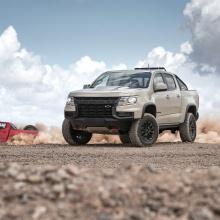 Команда Chevrolet раскрывает новый состав 2021 Colorado