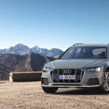 Audi представляет новый 2020 A6 Allroad!