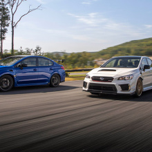 Subaru раскрывает первые технические характеристики новой линейки STI S209!