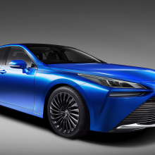 Toyota наконец раскрывает детали о водородной машине Mirai второго поколения