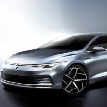Volkswagen Golf 8 - первые изображения