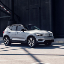 Представляем полностью электрическую версию Volvo XC40
