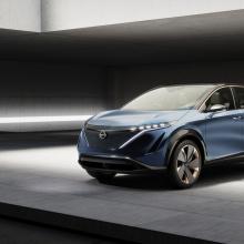 Nissan с гордостью представляет концепцию Ariya на автосалоне в Токио