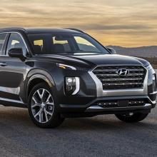 2020 Hyundai Palisade получил награду Official Show Vehicle!