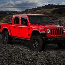 Jeep раскрывает первые подробности линейки 2020 Gladiator