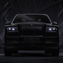 Представлен Rolls-Royce Cullinan Black Badge