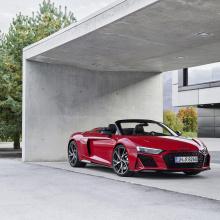 Audi показал 2020 R8 RWD Coupe и Spider